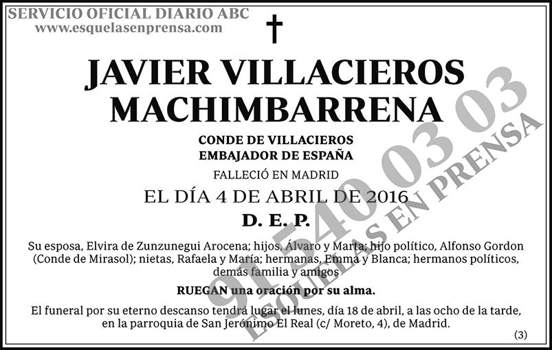 Javier Villacieros Machimbarrena